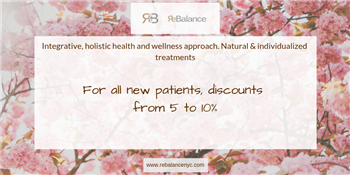 Discount from ReBalance NYC for all new patients | ReBalance NYC