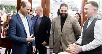 Prince William Visits Pall Mall Barbers