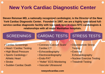 New York Cardiac Diagnostic Center Upper East Side | New York Cardiac Diagnostic Center
