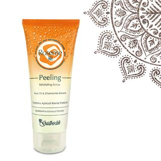 Peeling Exfoliating Scrup with Rose Oil & Chamomile Extact  | Rosense UK LTD